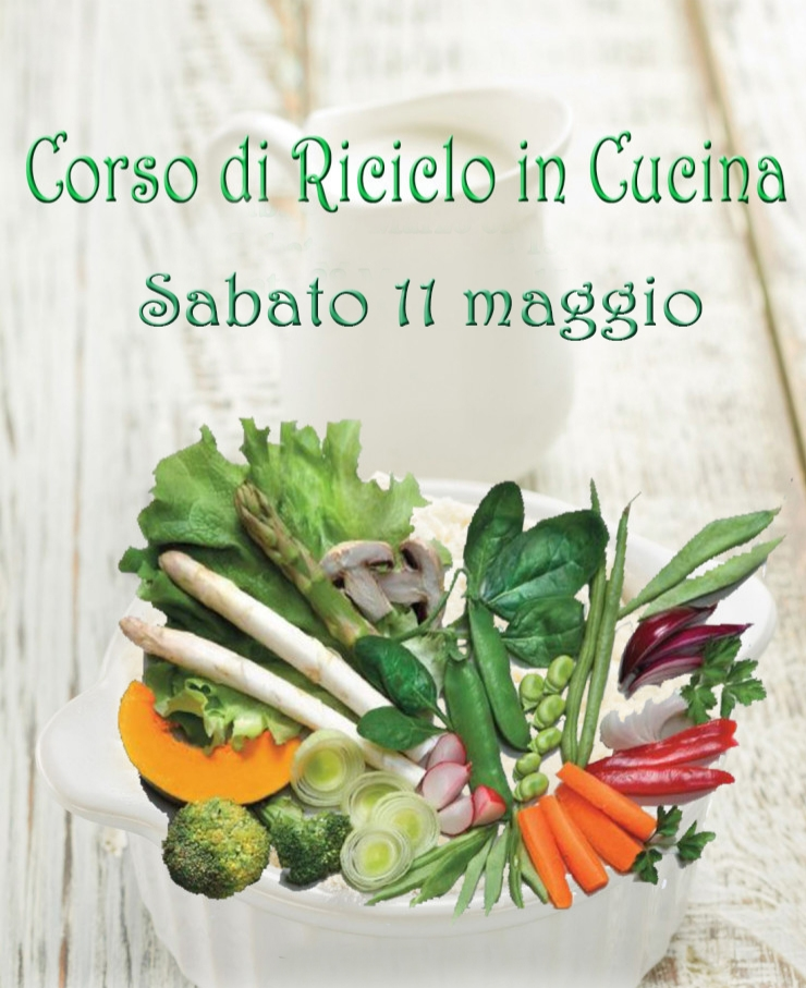 "Corso ""Riciclo in Cucina"" – My Comfort Food"